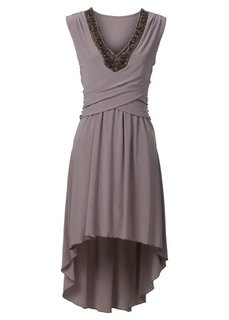 Платье с бусинками (маджента) Bonprix