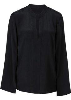 Блузка с расклешенными рукавами (темно-коралловый) Bonprix