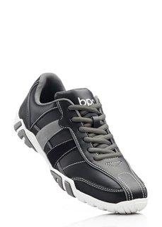 Туфли на шнурках (темно-синий) Bonprix