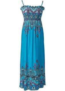 Платье (цвет фуксии с рисунком) Bonprix