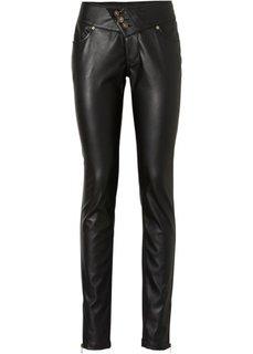 Полиуретановые брюки (светло-серый) Bonprix