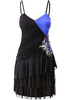 Платье (цвет фуксии/черный) Bonprix