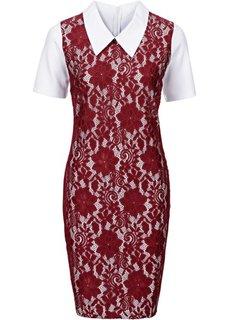 Вязаное платье (светло-коричневый) Bonprix