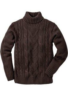 Пуловер (натуральный) Bonprix