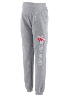 Мода для беременных: трикотажные брюки (темно-синий меланж) Bonprix