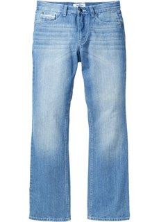 Джинсы Regular Fit Bootcut, cредний рост (N) (темно-синий «потертый») Bonprix