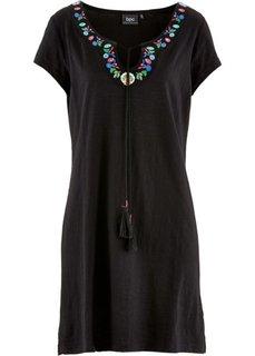 Трикотажное платье (бирюзовый) Bonprix