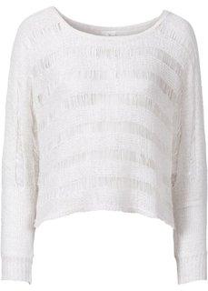 Вязаный пуловер (нежно-коралловый) Bonprix