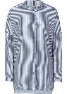Блузка в стиле оверсайз (черный) Bonprix