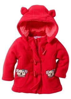 Флисовая курточка (красный/нежный ярко-розовый) Bonprix