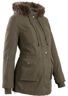 Мода для беременных: куртка с капюшоном (черный) Bonprix