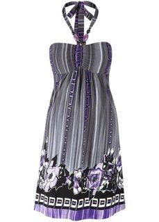 Платье (черный/цвет красной ягоды) Bonprix
