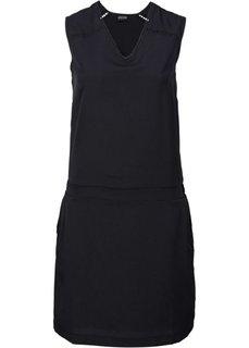 Платье с карманами (нежно-персиковый) Bonprix