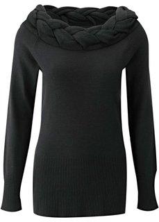Пуловер (коричневый) Bonprix