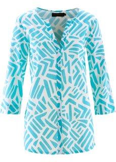 Блузка с рукавом 3/4 (цвет белой шерсти) Bonprix