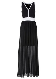 Платье (темно-синий/бежевый) Bonprix