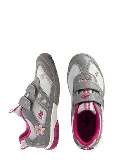 Кроссовки (серый/ярко-розовый) Bonprix