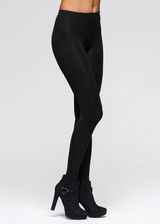 Колготки (2 шт.) (черный/серый) Bonprix