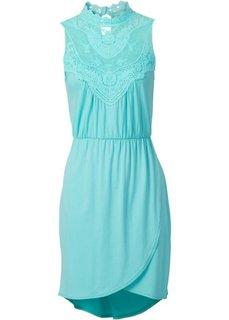 Трикотажное платье (розовый) Bonprix