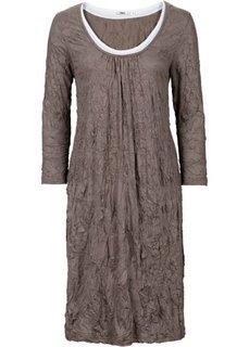 Платье 2 в 1 с рукавом 3/4 (лазурный) Bonprix