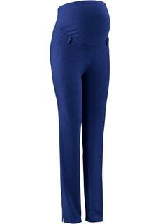 Мода для беременных: брюки в деловом стиле с узкими брючинами (черный) Bonprix