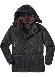 Удлиненная куртка Regular Fit (темно-оливковый) Bonprix