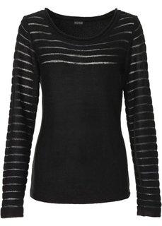 Пуловер (экрю) Bonprix