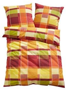 Постельное белье Паскаль, фланель (цвет карри) Bonprix