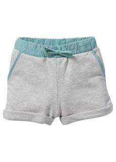 Трикотажные шорты, Размеры  80-134 (светло-серый меланж) Bonprix