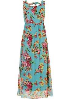 Платье (серо-коричневый с принтом) Bonprix
