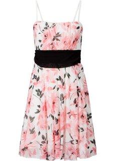 Платье (цвет белой шерсти/красная ягод) Bonprix