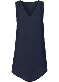 Удлиненная блузка (зеленый океан) Bonprix