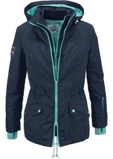 Функциональная куртка 2 в 1 (каменно-серый) Bonprix