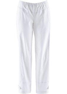 Бенгалиновые брюки 7/8 без застежки (черный) Bonprix