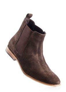 Замшевые ботинки (темно-синий) Bonprix