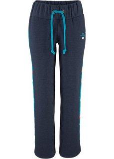 Трикотажные брюки (синий) Bonprix