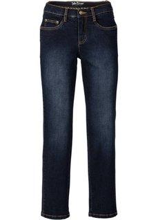 Стройнящие джинсы-стретч 7/8, cредний рост (N) (синий) Bonprix