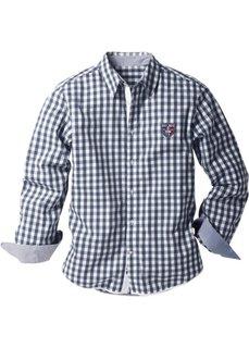 Рубашка (белый/красный в клетку) Bonprix