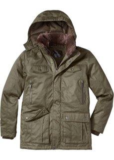 Удлиненная куртка Regular Fit (черный) Bonprix