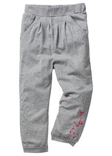 Трикотажные брюки, Размеры  80/86-164/170 (черный с узором) Bonprix