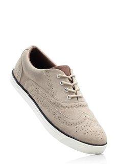Кожаные туфли (темно-синий) Bonprix