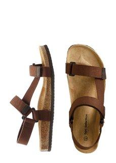 Трекинговые сандалии (коричневый) Bonprix