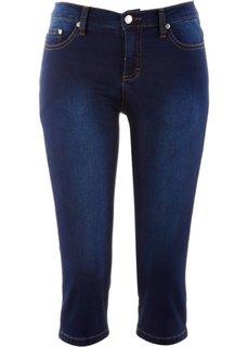 Джинсы-капри, cредний рост (N) (нежно-голубой) Bonprix