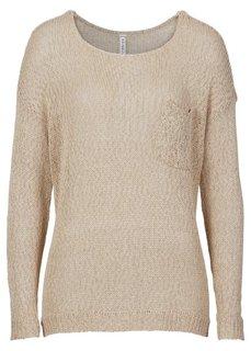 Летний пуловер (темно-красный) Bonprix
