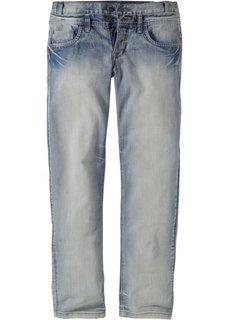 Джинсы Regular Fit Straight, длина (в дюймах) 34 (нежно-голубой выбеленный) Bonprix