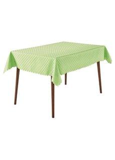 Скатерть для стола Клетка (белый) Bonprix