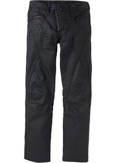 Джинсы Regular Fit Straight, длина (в дюймах) 34 (черный) Bonprix