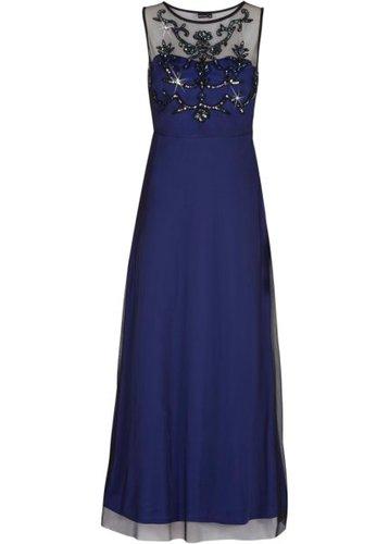 Вечернее платье (ярко-розовый/черный)