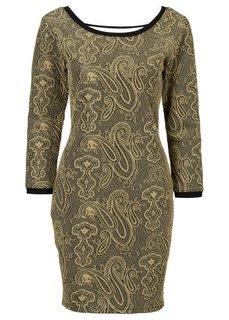 Платье (серебристый) Bonprix