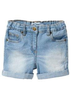 Джинсовые шорты (синий «потертый») Bonprix